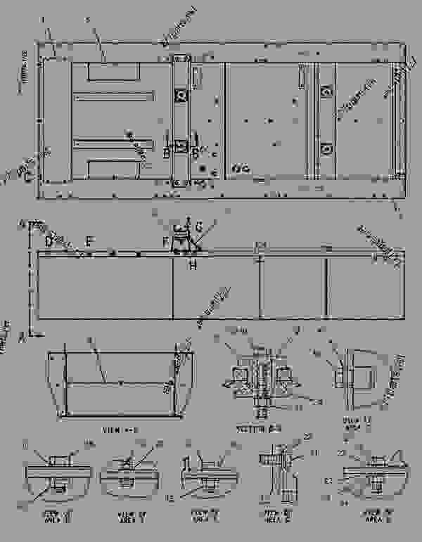 Parts scheme 1433862 TANK & BASE GROUP-FUEL   - ENGINE - GENERATOR SET Caterpillar 3306B - 3306B Generator Set Engine 9DS00001-UP FUEL SYSTEM | 777parts