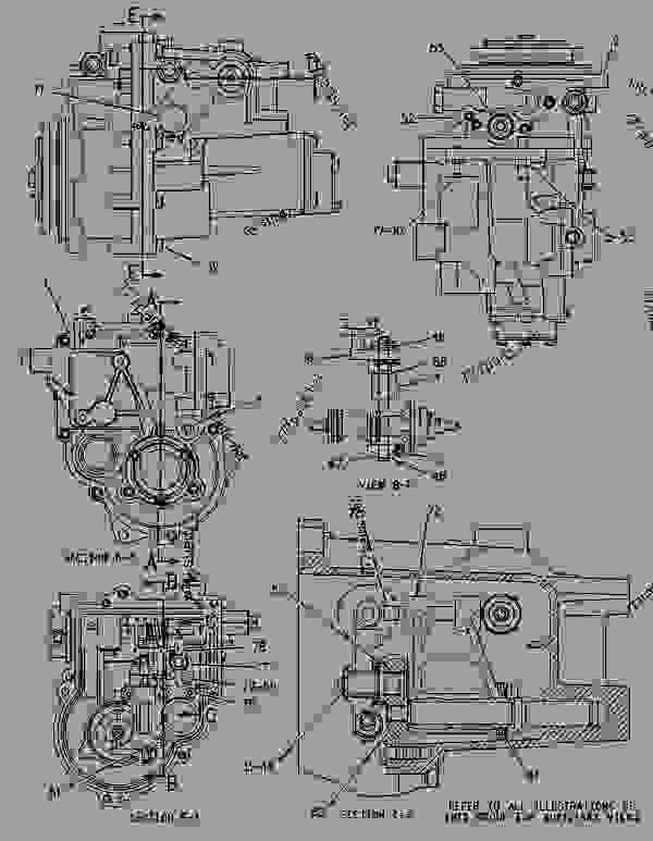 Parts scheme 1395495 GOVERNOR GROUP-UNIT INJECTOR   - CHALLENGER Caterpillar 45 - Challenger 35, Challenger 45 & Challenger 55 Agricultural Tractors 4DZ00001-UP (MACHINE) POWERED BY 3116 & 3126 Engines FUEL SYSTEM | 777parts