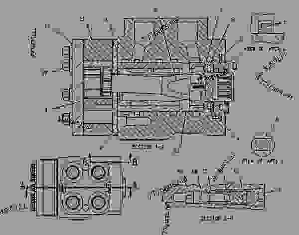 Parts scheme 1198767 PUMP GROUP-METERING  -HMU - EARTHMOVING COMPACTOR Caterpillar 816F - 816F COMPACTOR 5FN00001-UP (MACHINE) STEERING SYSTEM | 777parts