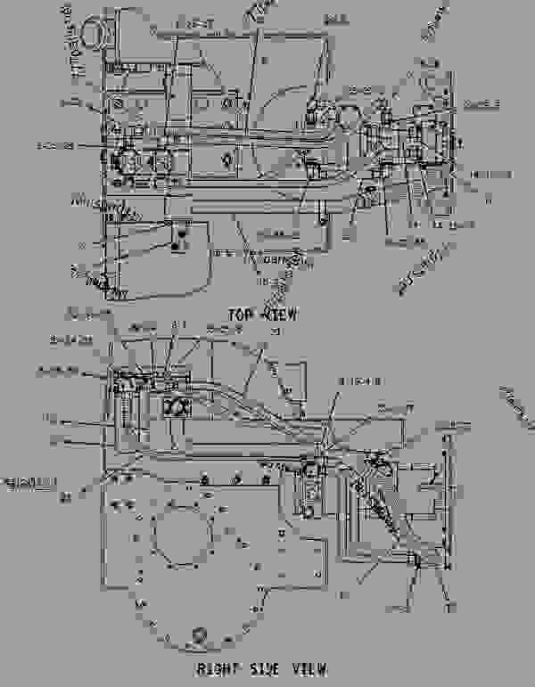 1238917 lines group-charge pressure - track-type tractor ... cat c15 engine diagram #9