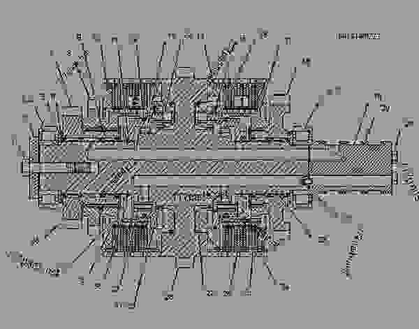 Parts scheme 1349776 CLUTCH GROUP   - CHALLENGER Caterpillar 85E - Challenger 85E Agricultural Tractor 6JS00001-UP (MACHINE) POWERED BY 3196 Engine POWER TRAIN | 777parts