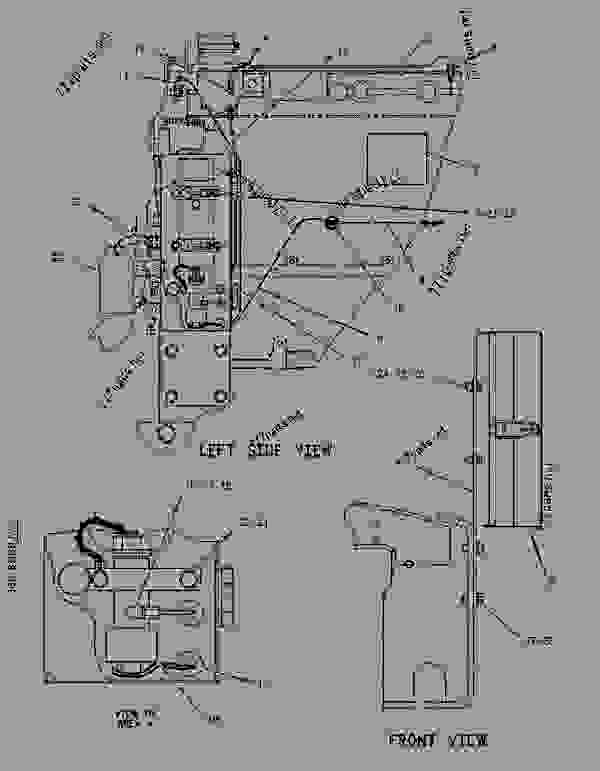 Parts scheme 1255774 SOLENOID GROUP-SHUTOFF  -GOVERNOR - ENGINE - GENERATOR SET Caterpillar 3306B - 3306B Generator Set 9NR00001-UP ELECTRICAL AND STARTING SYSTEM | 777parts