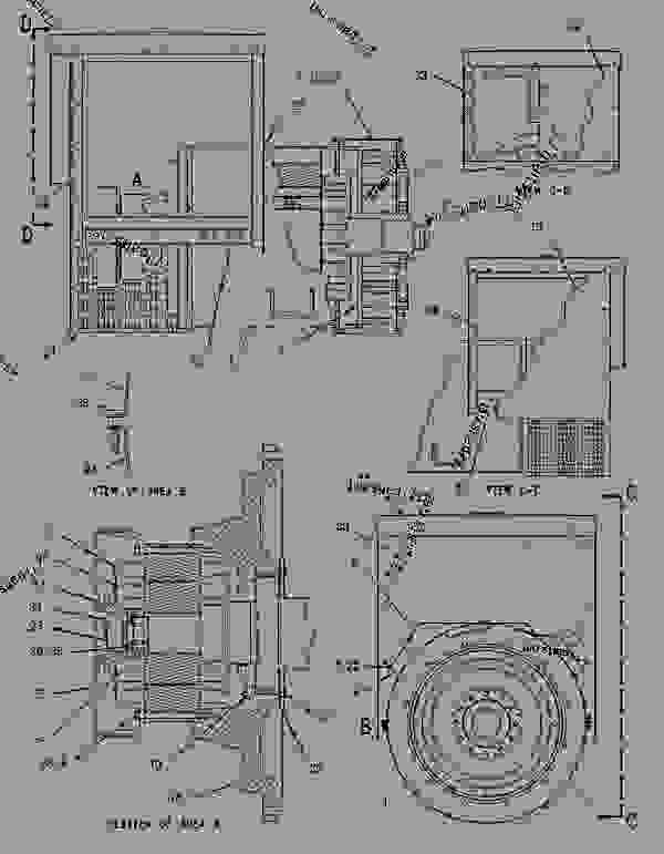 Parts scheme 1291515 GENERATOR GROUP   - ENGINE - GENERATOR SET Caterpillar 3306B - 3306B Generator Set B8D00001-UP GENERATORS | 777parts