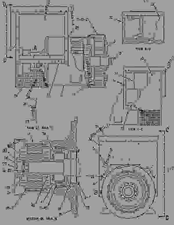 Parts scheme 1304727 GENERATOR GROUP   - ENGINE - GENERATOR SET Caterpillar 3306B - 3306B Generator Set B8D00001-UP GENERATORS | 777parts
