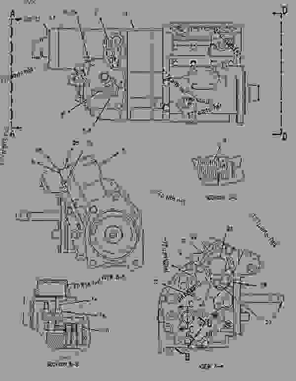 Parts scheme 1392891 SUPPORT GROUP-FUEL INJECTION PUMP   - ENGINE - GENERATOR SET Caterpillar 3304B - 3304B(XQ125) Rental Generator Set DED00001-UP FUEL SYSTEM | 777parts