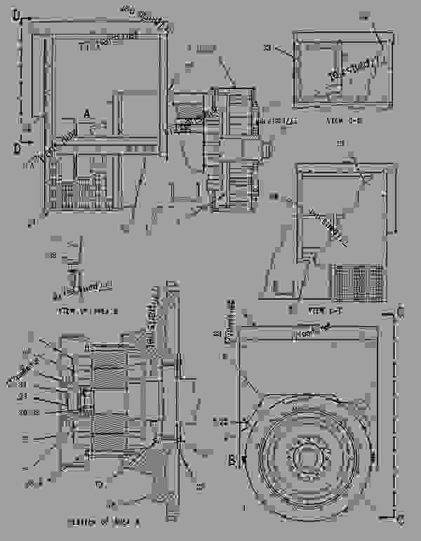 Parts scheme 1291514 GENERATOR GROUP   - ENGINE - GENERATOR SET Caterpillar 3306B - 3306B Generator Set 9NR00001-UP GENERATORS | 777parts