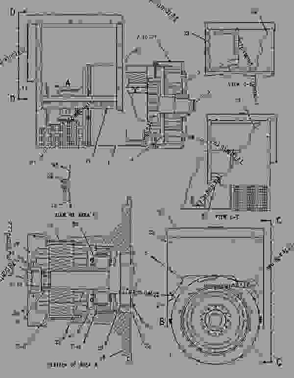 Parts scheme 1307581 GENERATOR AR   - ENGINE - GENERATOR SET Caterpillar 3306B - 3306B Generator Set 9NR00001-UP GENERATORS | 777parts