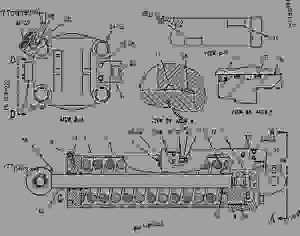 Parts scheme 1483031 CYLINDER GROUP-BELT TENSIONER   - CHALLENGER Caterpillar 75E - Challenger 75E Agricultural Tractor 1HM00001-UP (MACHINE) POWERED BY 3176 Engine UNDERCARRIAGE | 777parts