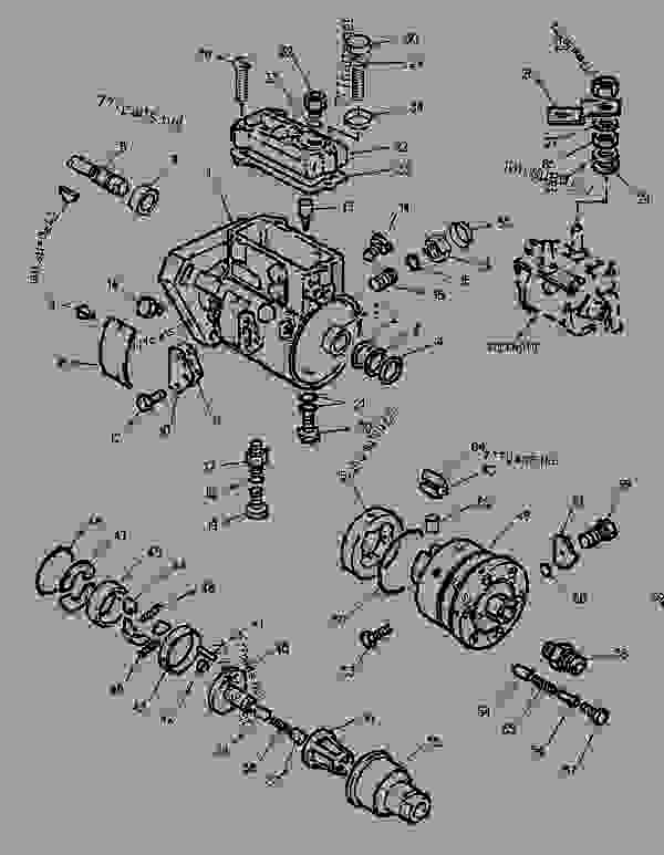 Parts scheme 1304646 FITTING GROUP-FUEL LINES   - BACKHOE LOADER Caterpillar 436C - 436C Backhoe Loader Center Pivot, Parallel Lift 1PR00001-01598 (MACHINE) POWERED BY 3054 Engine FUEL SYSTEM | 777parts