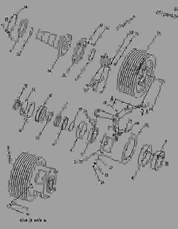 Parts scheme 1313727 PULLEY GROUP-LOWER   - COLD PLANER Caterpillar PM-465 - PM-465 Cold Planer 5ZS00001-UP (MACHINE) POWERED BY 3406 Engine IMPLEMENTS | 777parts