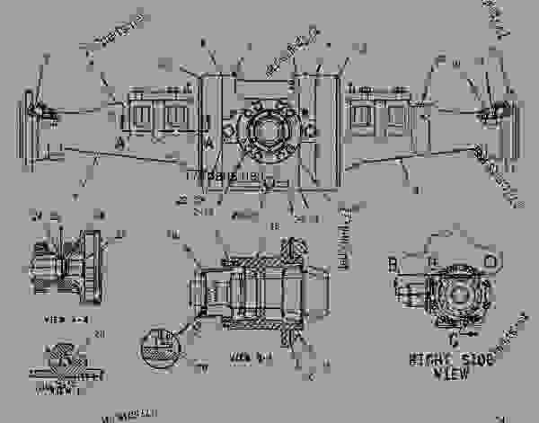 1003811 housing group-fixed axle