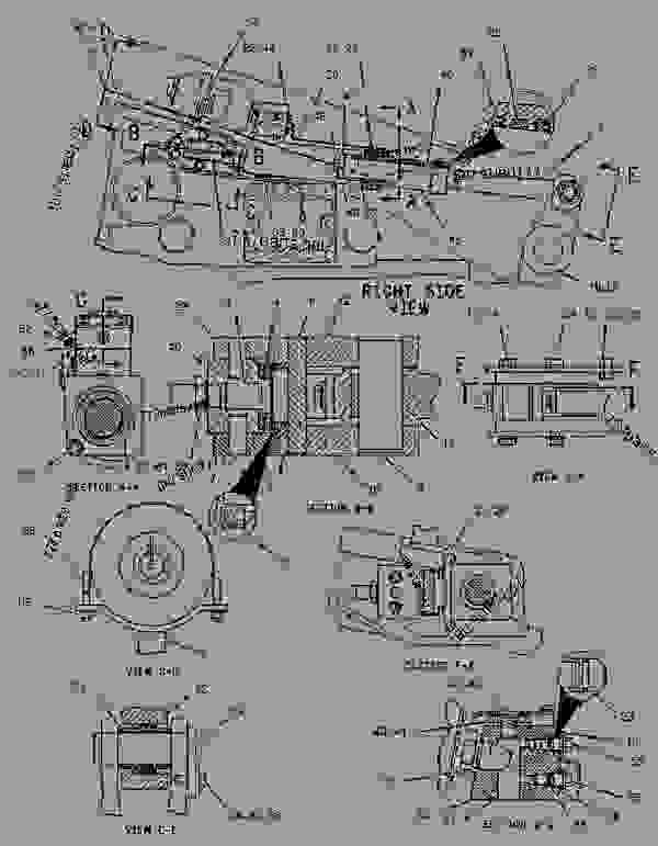 Parts scheme 1467586 BELT TENSIONER GROUP   - CHALLENGER Caterpillar 45 - Challenger 35, Challenger 45 & Challenger 55 Agricultural Tractors 4DZ00001-UP (MACHINE) POWERED BY 3116 & 3126 Engines UNDERCARRIAGE | 777parts