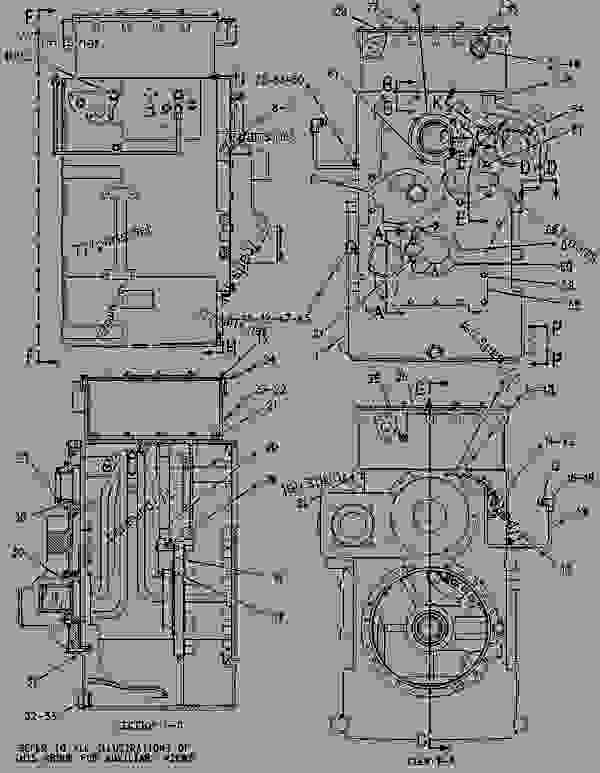 Parts scheme 1496334 CASE & PARTS GROUP-PLANETARY  -WITH POWER TAKE-OFF - CHALLENGER Caterpillar 65E - Challenger 65E Agricultural Tractor 6GS00001-UP (MACHINE) POWERED BY 3176C Engine POWER TRAIN | 777parts