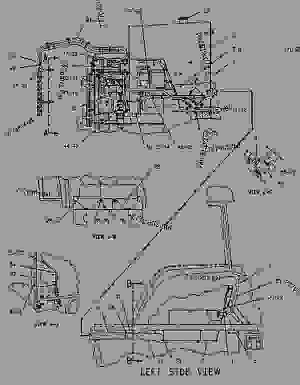 Parts scheme 1249461 TANK GROUP-FUEL   - CHALLENGER Caterpillar 35 - Challenger 35 and Challenger 45 Agricultural Tractors 8DN00001-00849 (MACHINE) POWERED BY 3116 Engine FUEL SYSTEM | 777parts
