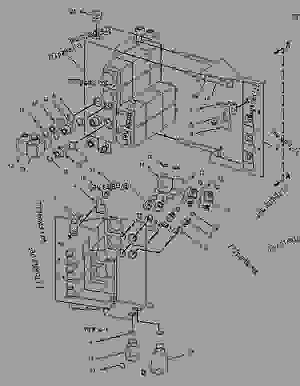 Parts scheme 1313482 VALVE & MTG GROUP-FRONT   - COLD PLANER Caterpillar PM-465 - PM-465 Cold Planer 5ZS00001-UP (MACHINE) POWERED BY 3406 Engine HYDRAULIC SYSTEM | 777parts