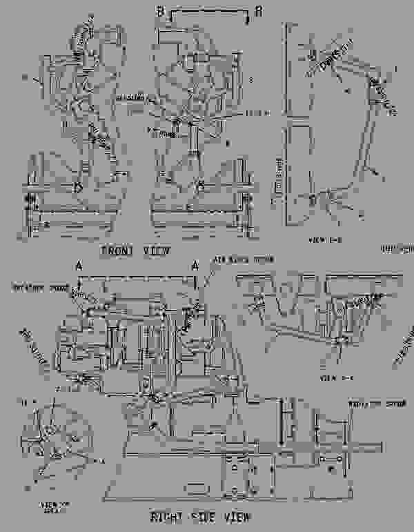Parts scheme 7E4262 FUMES DISPOSAL GROUP   - ENGINE - GENERATOR SET Caterpillar 3412 - 3412 Generator Set Engine 2WJ00001-UP LUBRICATION SYSTEM | 777parts