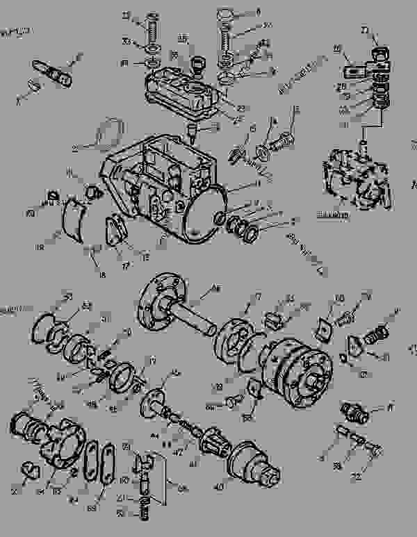 1142472 pump group-fuel injection