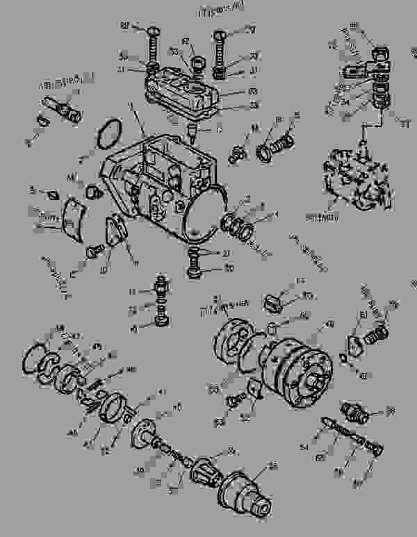 Parts scheme 1151163 PUMP GROUP-FUEL INJECTION   - PAVING COMPACTOR Caterpillar CB-545 - CB-545 Vibratory Compactor 2FS00001-UP (MACHINE) POWERED BY 3054 Engine FUEL SYSTEM | 777parts