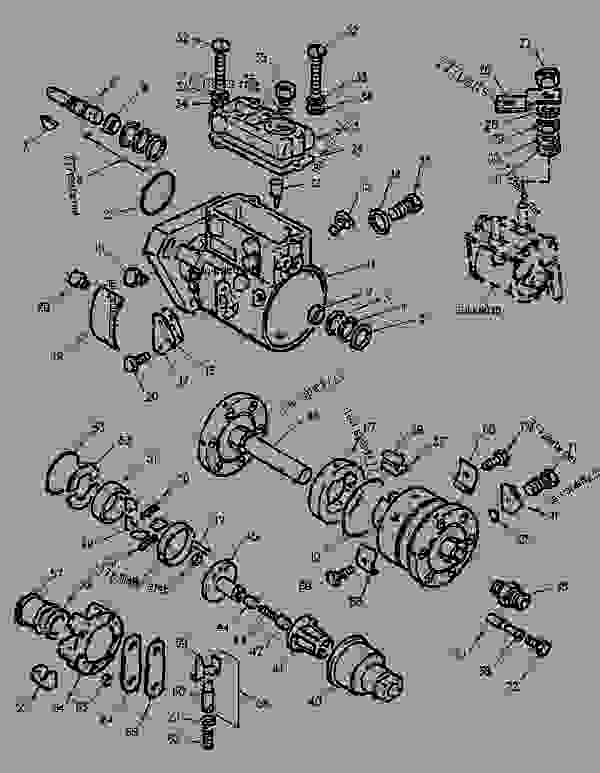 Parts scheme 1262241 LINES GROUP-FUEL INJECTION   - ENGINE - GENERATOR SET Caterpillar 3056 - 3056 Generator Set Engine 7AK00001-UP FUEL SYSTEM | 777parts