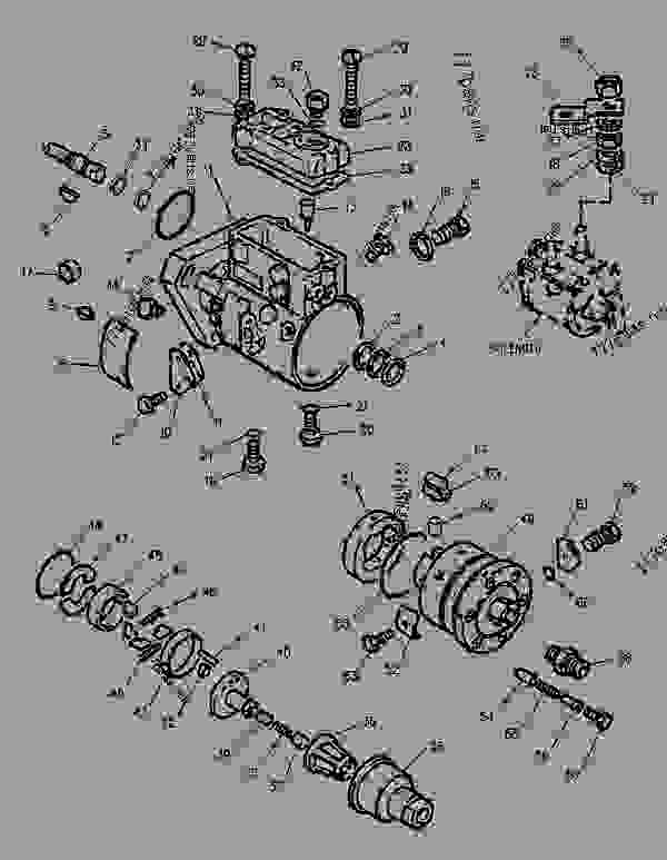 Parts scheme 1108005 PUMP GROUP-FUEL INJECTION   - ENGINE - GENERATOR SET Caterpillar 3054 - 3054 Generator Set Engine 4ZK00001-UP FUEL SYSTEM | 777parts