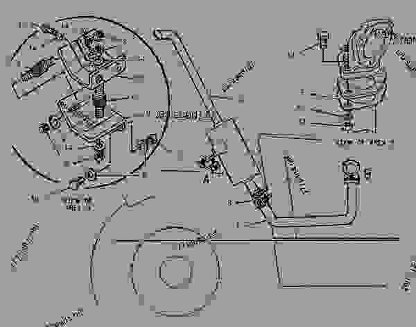 Parts scheme 1192827 MUFFLER GROUP   - TELEHANDLER Caterpillar TH62 - TH62 Telehandler 3LN00001-UP (MACHINE) POWERED BY 3054 Engine AIR INLET AND EXHAUST SYSTEM | 777parts