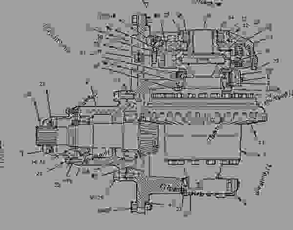 Parts scheme 9V1761 DIFFERENTIAL & BEVEL GEAR GROUP   - WHEEL TRACTOR-SCRAPER Caterpillar 615C - 615C Wheel Tractor-Scraper 5TF00001-UP (MACHINE) POWERED BY 3306 Engine POWER TRAIN | 777parts