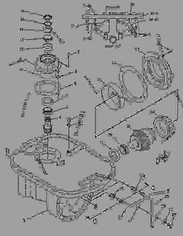 Parts scheme 8E7805 PLANETARY GROUP-DIFFERENTIAL STER   - CHALLENGER Caterpillar 85D - Challenger 85D Agricultural Tractor 4GR00001-UP (MACHINE) POWERED BY 3196 Engine DIFFERENTIAL STEERING SYSTEM | 777parts
