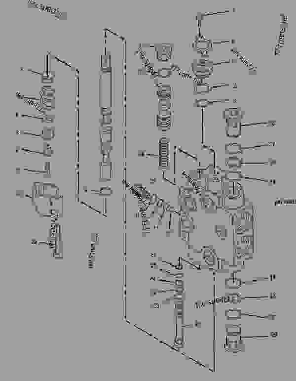 Parts scheme 1325134 VALVE GROUP-CONTROL  -EXTENDABLE STICK - BACKHOE LOADER Caterpillar 436C - 436C Backhoe Loader Center Pivot, Single Tilt 9JN00001-00883 (MACHINE) POWERED BY 3054 Engine HYDRAULIC SYSTEM | 777parts