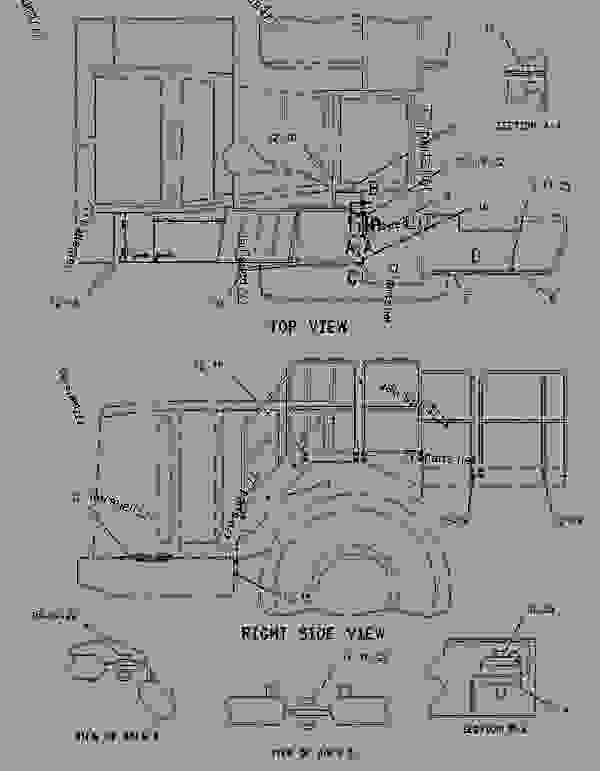 Parts scheme 2619434 COVER GROUP-ELECTRONICS BAY  -REAR - EARTHMOVING COMPACTOR Caterpillar 836H - Custom Product Support Literature for the 834H Wheel Type Tractor and the 836H Landfill Compactor BXD00001-UP (MACHINE) FRAME AND BODY | 777parts