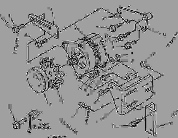 Parts scheme 1390266 SEPARATOR GROUP-WATER   - ENGINE - GENERATOR SET Caterpillar 3056 - 3056 Generator Set Engine 7AK00001-UP FUEL SYSTEM | 777parts