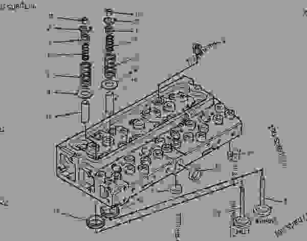 Parts scheme 1508683 CYLINDER HEAD GROUP   - INTEGRATED TOOLCARRIER Caterpillar IT14G - IT14G Integrated Toolcarrier 1WN00001-00659 (MACHINE) POWERED BY 3054 Engine BASIC ENGINE | 777parts