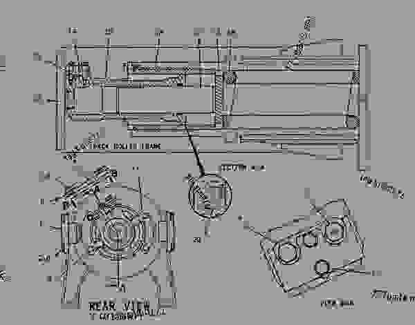 ford tractor cav injection pump diagram
