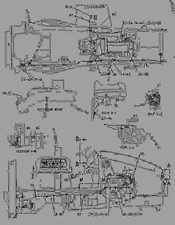 Parts scheme 1197023 WIRING GROUP-LIFT VALVE   - BACKHOE LOADER Caterpillar 428C - 428C Backhoe Loader 8RN00001-04088 (MACHINE) POWERED BY 3054 Engine ELECTRICAL AND STARTING SYSTEM | 777parts