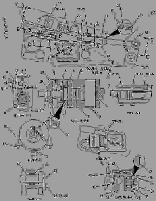 Parts scheme 1438679 BELT TENSIONER GROUP   - CHALLENGER Caterpillar 35 - Challenger 35, Challenger 45 & Challenger 55 Agricultural Tractors 9DF00001-UP (MACHINE) POWERED BY 3116 & 3126 Engines UNDERCARRIAGE | 777parts