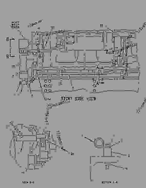 Parts scheme 2406834 HARNESS AS-WIRING  -EMCP II - ENGINE - GENERATOR SET Caterpillar 3508B - 3508B Generator Set Oil Field Land Rig PTN00001-UP ELECTRICAL AND STARTING SYSTEM | 777parts