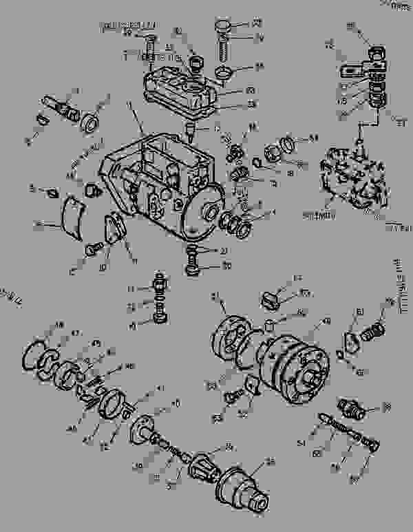 Parts scheme 1301416 PUMP GROUP-FUEL INJECTION   - BACKHOE LOADER Caterpillar 416C - 416C Backhoe Loader Center Pivot, Single Tilt 5YN00001-15147 (MACHINE) POWERED BY 3054 Engine FUEL SYSTEM | 777parts