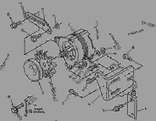 Parts scheme 1008223 ALTERNATOR GROUP-CHARGING   - ENGINE - GENERATOR SET Caterpillar 3056 - 3056 Generator Set Engine 7AK00001-UP ELECTRICAL AND STARTING SYSTEM | 777parts