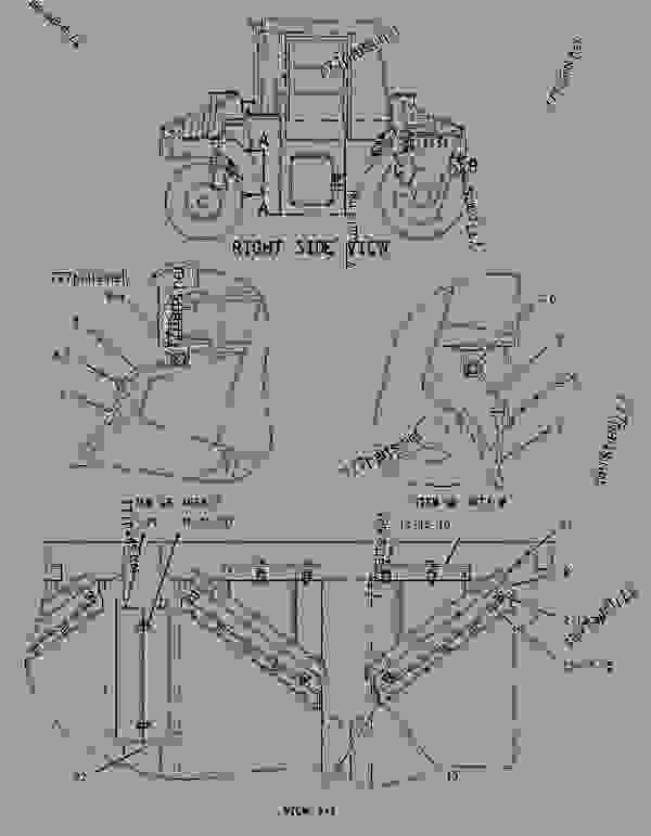 Parts scheme 1311364 SCRAPER GROUP-DRUM & WHEEL   - PAVING COMPACTOR Caterpillar CB-545 - CB-545 Vibratory Compactor 2FS00001-UP (MACHINE) POWERED BY 3054 Engine FRAME AND BODY | 777parts