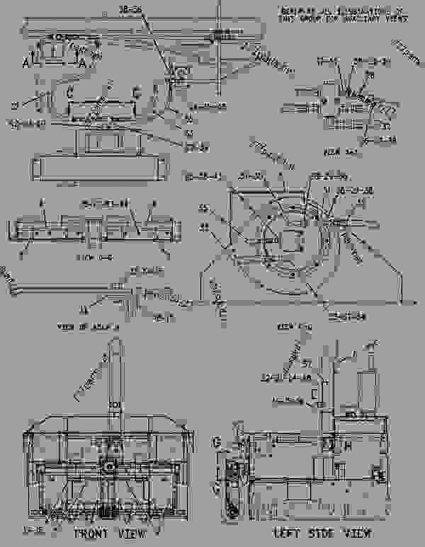 Parts scheme 1476555 VENTILATION GROUP-PAVER   - ASPHALT PAVER Caterpillar BG-2455C - Caterpillar AP-1055B, Barber-Greene BG-2455C Asphalt Paver ACM00001-UP (MACHINE) POWERED BY 3116 Engine FRAME AND BODY | 777parts