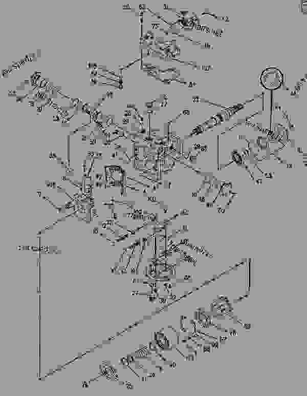 Parts scheme 1061131 PUMP GROUP-PISTON   - ASPHALT PAVER Caterpillar AP-1055B - Caterpillar AP-1055B, Barber-Greene BG-2455C Asphalt Pavers 8BM00001-UP (MACHINE) POWERED BY 3116 Engine HYDRAULIC SYSTEM | 777parts