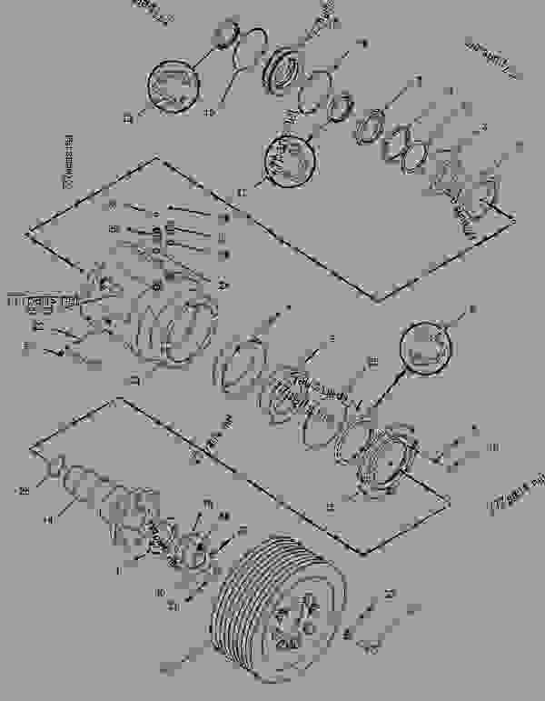 Parts scheme 1616721 PULLEY GROUP-LOWER  -LOWER - COLD PLANER Caterpillar PM-465 - PM-465 Cold Planer 5ZS00001-UP (MACHINE) POWERED BY 3406 Engine IMPLEMENTS | 777parts