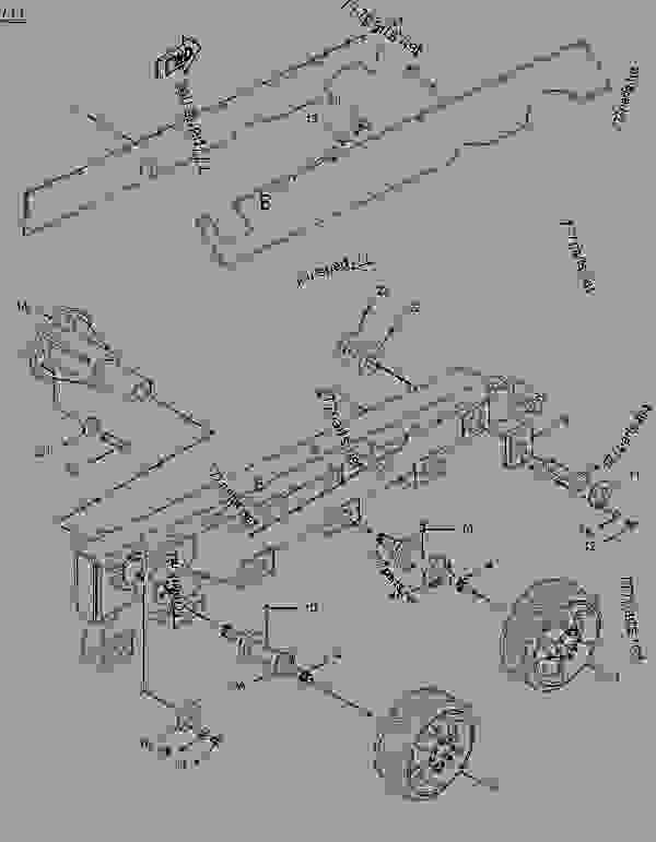 Parts scheme 1061048 FRAME GROUP-TRACK ROLLER   - ASPHALT PAVER Caterpillar BG-2455C - Caterpillar AP-1055B, Barber-Greene BG-2455C Asphalt Pavers 6TN00001-UP (MACHINE) POWERED BY 3116 Engine UNDERCARRIAGE | 777parts