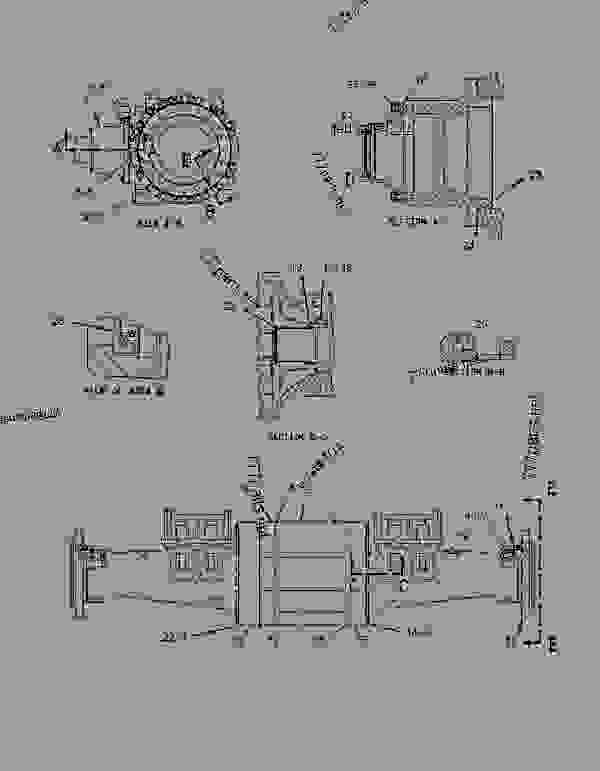 Parts scheme 1191085 HOUSING GROUP-FIXED AXLE   - EARTHMOVING COMPACTOR Caterpillar 816F - 816F COMPACTOR 5FN00001-UP (MACHINE) POWER TRAIN | 777parts