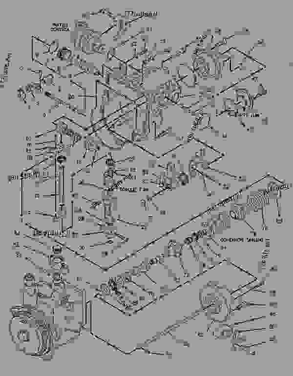 3116 cat engine parts diagram