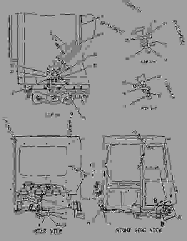 Parts scheme 1374753 CONTROL GROUP-SERVICE BRAKE  -FRONT - ARTICULATED DUMP TRUCK Caterpillar D250E II - D250E Series II Articulated Truck 4PS00001-UP (MACHINE) POWERED BY 3306 Engine BRAKING SYSTEM | 777parts