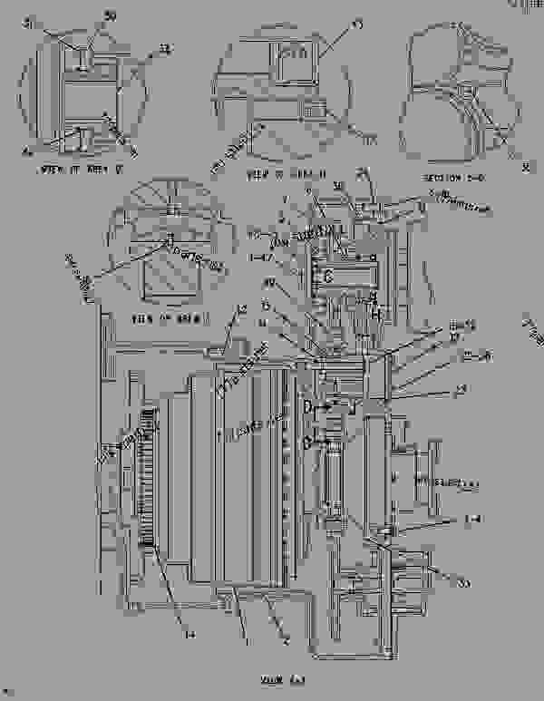 Parts scheme 3382051 SLIP JOINT GROUP   - EARTHMOVING COMPACTOR Caterpillar 836G - 836G Landfill Compactor 3456 Engine 7MZ00001-UP (MACHINE) POWER TRAIN | 777parts