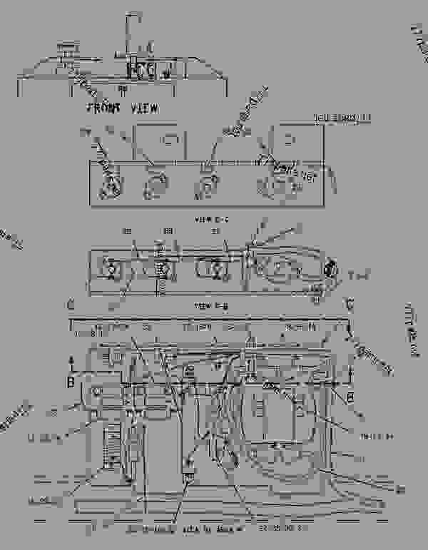 Parts scheme 1484427 CIRCUIT BREAKER & RELAY GROUP   - ASPHALT PAVER Caterpillar BG-225C - CATERPILLAR AP-650B, BARBER-GREENE BG-225C Asphalt Pavers 5GN00001-UP (MACHINE) POWERED BY 3054 Engine ELECTRICAL AND STARTING SYSTEM | 777parts