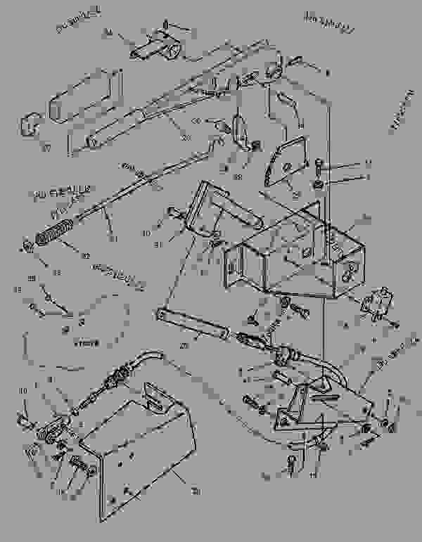 Parts scheme 1084735 BRAKE GROUP-PARKING   - CHALLENGER Caterpillar 45 - Challenger 35 and Challenger 45 Agricultural Tractors 1DR00001-01699 (MACHINE) POWERED BY 3116 Engine BRAKING SYSTEM | 777parts