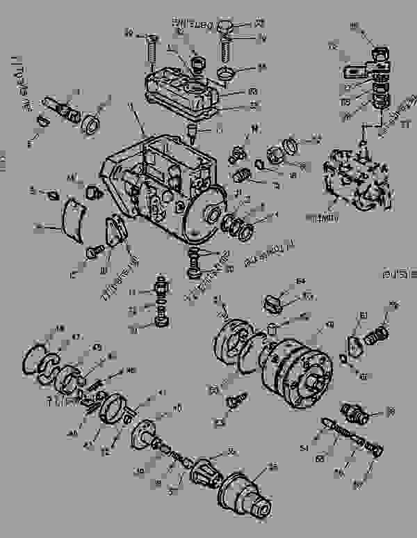 Parts scheme 1305392 PUMP GROUP-FUEL INJECTION   - BACKHOE LOADER Caterpillar 436C - 436C Backhoe Loader Center Pivot, Single Tilt 9JN00001-00883 (MACHINE) POWERED BY 3054 Engine FUEL SYSTEM | 777parts