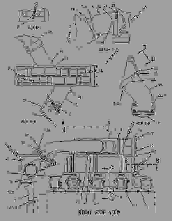 Parts scheme 1442888 LINES GROUP-AIR   - ENGINE - GENERATOR SET Caterpillar 3508B - 3508B Generator Set CNB00001-UP AIR INLET AND EXHAUST SYSTEM | 777parts